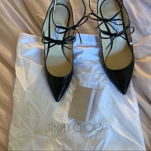 Jimmy Choo Sage 85 pumps with bag and paperwork